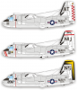 Декаль 1/48 US Navy S-2E Trackers от Caracal Models