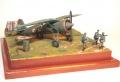 Диорама Mirage Hobby 1/48 PZL-11C - Сентябрьский блицкриг