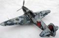 Диорама ICM 1/48 Як-7А – Як в зимнем