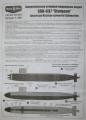 Обзор Микро-Мир 1/350 SSN-637 Sturgeon