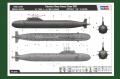 Обзор Hobby Boss 1/350 Russian Yasen class SSN, АПЛ проекта 885