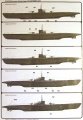 Обзор Flagman 1/350 U-boat type IXA/B
