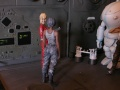 Диорама 1/20 Ма.K. Fireball repairing - Sci-Fi hangar