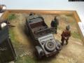 Диорама 1/48 - Небольшая поломка, господин офицер