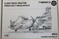 Phantom Models 1/72 Deck Tractor French Navy - палубный тягач французских ВМС