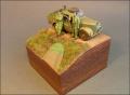 Диорама Tamiya 1/48 Austin 10HP - Диорамка из мелочей