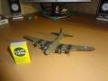 Самодел 1/150 B-17 Flying Fortress из дерева