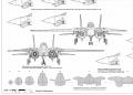 Обзор Revell F-14D Super Tomcat Last Flight