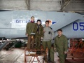Уральская гончая - нанесение именной надписи на МиГ-31 красками Tamiya