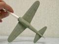 Tamiya 1/72 Mitsubishi A6M2 пилот лейтенант Фусата Иида