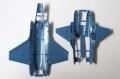 Обзор Fujimi 1/72 F-35B Lightning II - японская молния