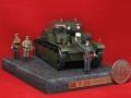 Диорама 1/72 Т-28 - Именной средний танк