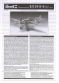 Обзор Revell 1/32 Messerschmitt Bf-109G-6 Kit.No.04665