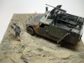 Диорама 1/35 Humvee HUMMER M998 Наджаф, Ирак, 2003