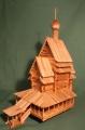 СВ-модель 1/72 Георгиевская церковь. Юксовичи 1493г.