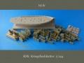 Обзор A.B.&K Models 1/144 KFK Kriegsfischkutter