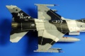Academy 1/72 F-16C Blizzard Bad Guy