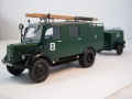 ICM 1/35 Mercedes L1500S LLG - Легкая пожарная машина