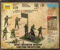 Обзор Звезда 1/72 Советские мотострелки