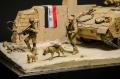 Диорама 1/35 - Патрулирование окрестностей Багдада
