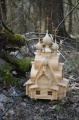 Макет-проект деревянного храма часовни