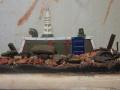 Диорама 28mm Рождение подсолнухов