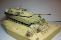 Диорама Trumpeter 1/35 Abrams M1A1 - Строители демократии