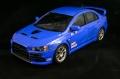 Aoshima 1/24 Mitsubishi Lancer Evo X Cobalt Blue