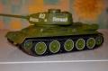 Zvezda 1/35 T-34-85 - Первый опыт