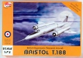 Обзор ProResin 1/72 Bristol Type 188 - почти что Дрозд-альбинос