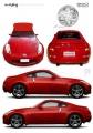 Aoshima 1/24 Nissan 350Z The Art of War Edition