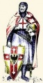 EK castings 54mm Рыцарь ордена Калатравы, Испания, XIII век