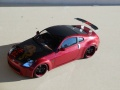 Tamiya 1/24 Nissan 350Z Fairlady - карбон и дракон