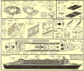 Обзор Revell 1/400 Queen Mary 2 + Фототравление от GMM