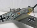 Звезда 1/72 Bf.109F-2 v.Hahn - Конь в яблоках