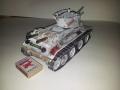 Бумажная модель танка БТ-7 1/24