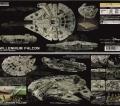 Bandai 1/144 Millennium Falcon - The Force Awakens