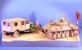 Italeri 1/72 Pz.II ausf F. + Special Armor 1/72 Steyr 1500