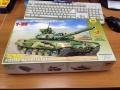 Звезда 1/35 Танк Т-90 - первый блин
