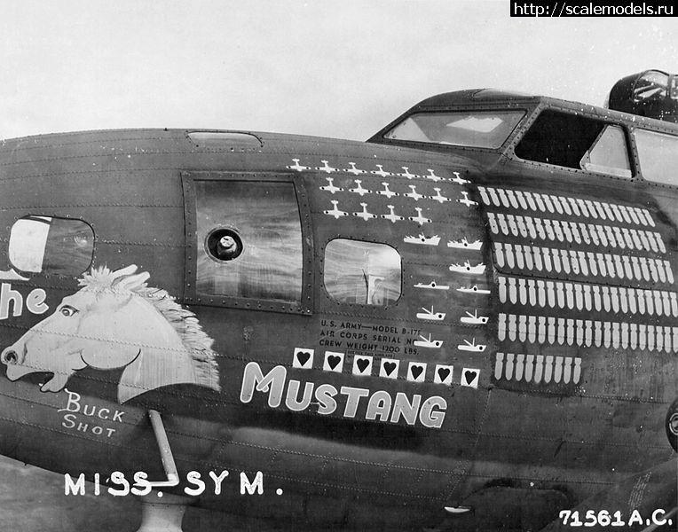 #1221516/ Обзор DK Decals 1/72 B-17 Flying Fort...(#9449) - обсуждение Закрыть окно