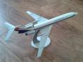 Звезда 1/144 Ту-154 - Неудачная история сборки самолета