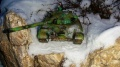 Звезда 1/35 Т-72Б - Зимний прогон