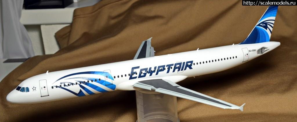 #1229921/ 1/144 Звезда А-321, EgyptAir-ГОТОВО Закрыть окно