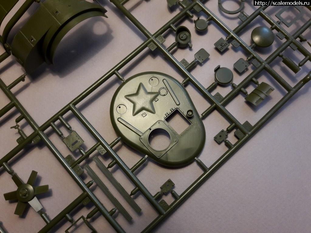 Анонс Звезда 1/35 Т-35 - Фото литников Закрыть окно