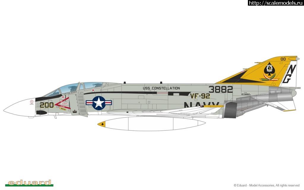 Eduard 1/48: Ограниченная серия с F-4J с пластиковыми деталями Academy Закрыть окно