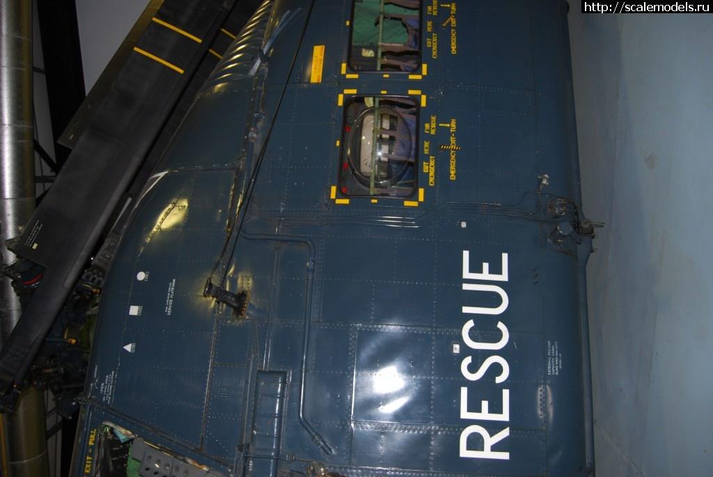 Walkaround Westland Wessex HU.5, Royal Navy Fleet Air Arm Museum, Yeovilton, Somerset, UK Закрыть окно