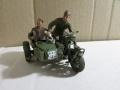 1/35 захваченный мотоцикл BMW  сс-цов