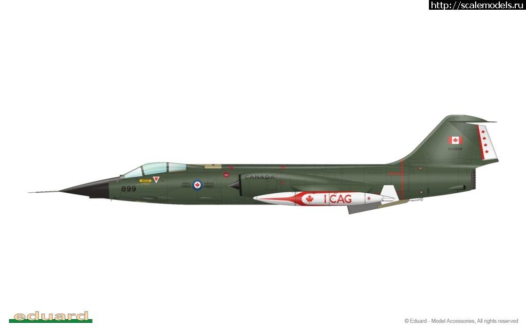 Eduard 1/48 F-104G Starfighter, основанный на пластике Hasegawa Закрыть окно