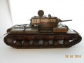 Звезда 1/35 КВ-1 - Первая модель
