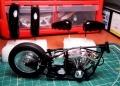 Aoshima 1/12 Bike V-Twin Custom Black Fat Boy